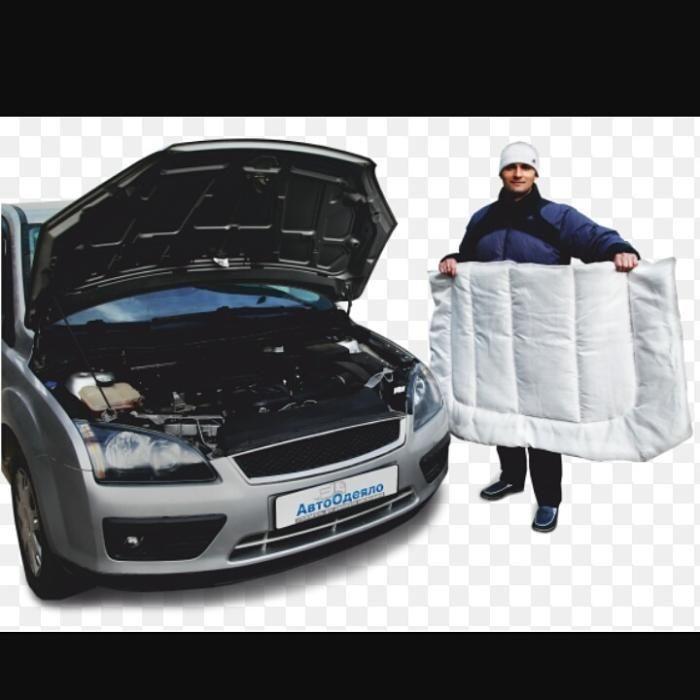 """""""Автоодеяло"""" - утеплитель для двигателя автомобиля"""