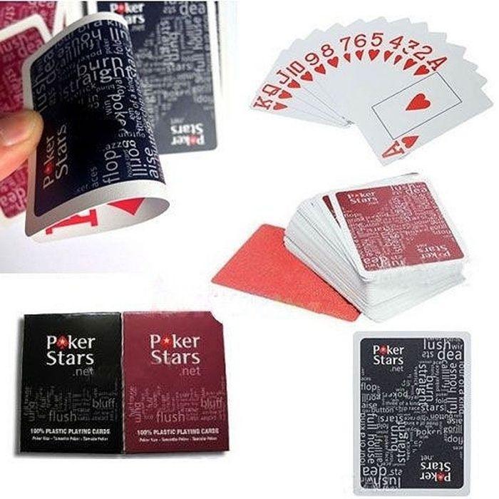 Пластиковые игральные карты (Pokerstars)