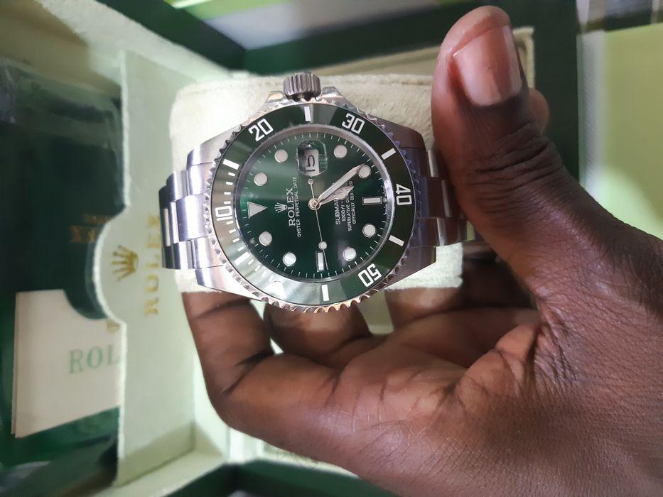 6a0b81d81b8 Rolex Submariner Automático fundo verde Ngola Kiluanje • olx.co.ao