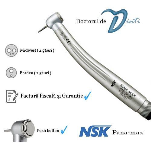 Turbina dentara stomatologie NSK Panamax A++ / Sandent / Seasky