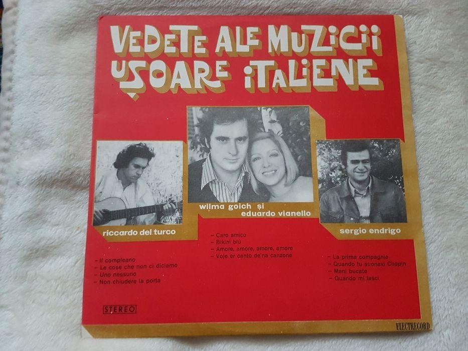 Disc Pick-up Vedete ale muzicii usoare italiene