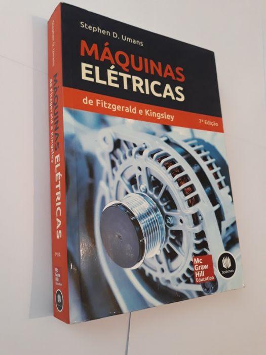 Livro Máquinas Elétricas de Fitzgerald e Kingsley - 7ª Ed.