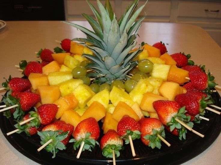Prestação de Serviços de Decoração de Frutas**