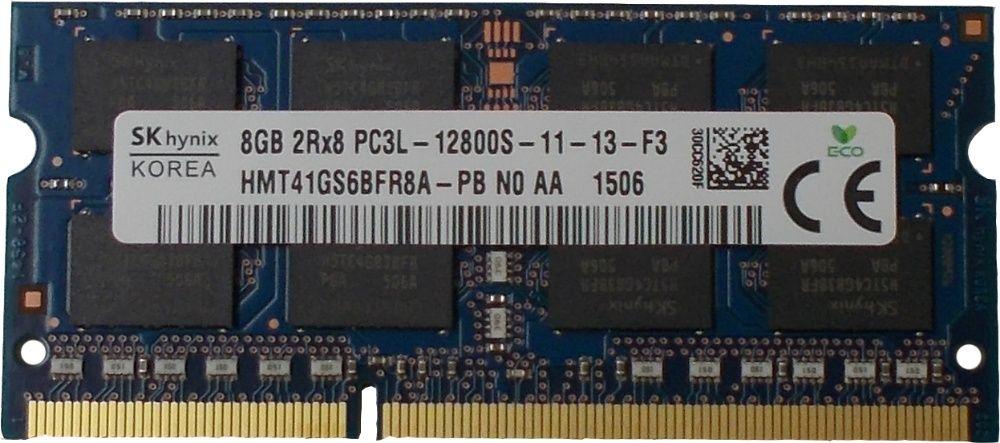 8GB Memorie Laptop Hynix HMT41GS6BFR8A DDR3 PC3L12800 1600MHz 1.35