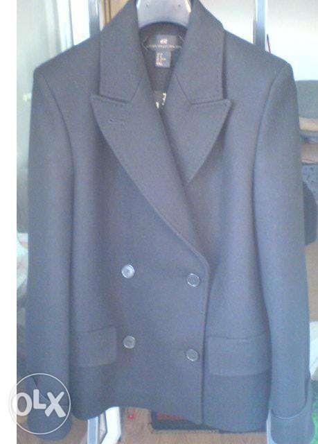 scurta, palton H&M editie limitata, lana, 38