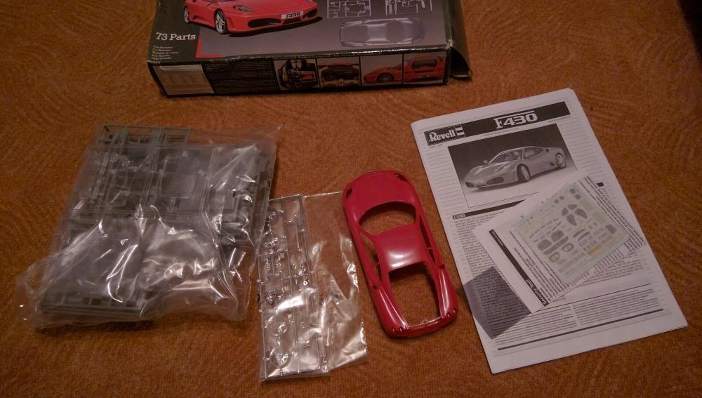 Ferrari F430 Revell - Nr. 07381 - 1:24 сглобяем модел