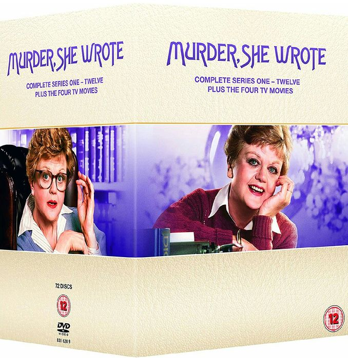 Film Serial Murder She Wrote / Verdict Crima DVD BoxSet Seasons 1-12
