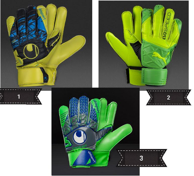 Детски вратарски ръкавици Uhlsport, Puma
