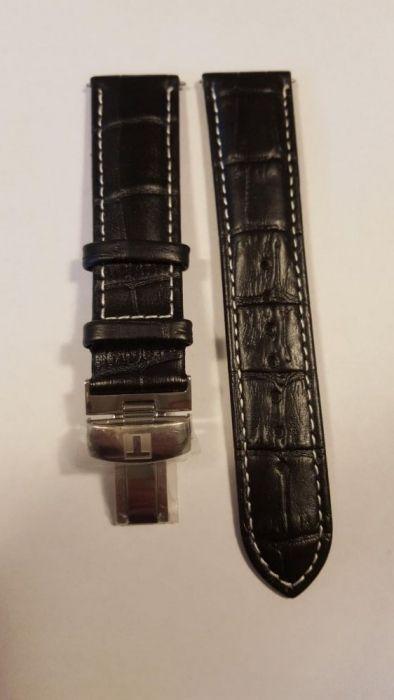 curea ceas Tissot 20 mm Tissot Tradition Neagra Maro