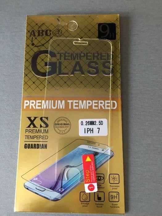 Folie sticla securizata Iphone: 6 ,6s, 7, 8 - En Gros (duritate 9H)