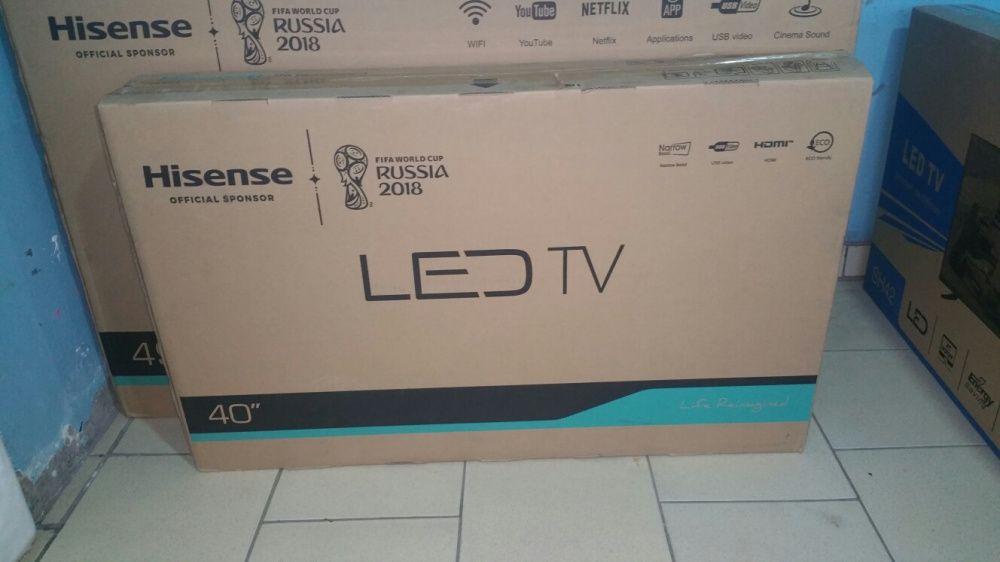 Promoção de tvs hisense LED FULL HD 40 polegadas novas na caixa