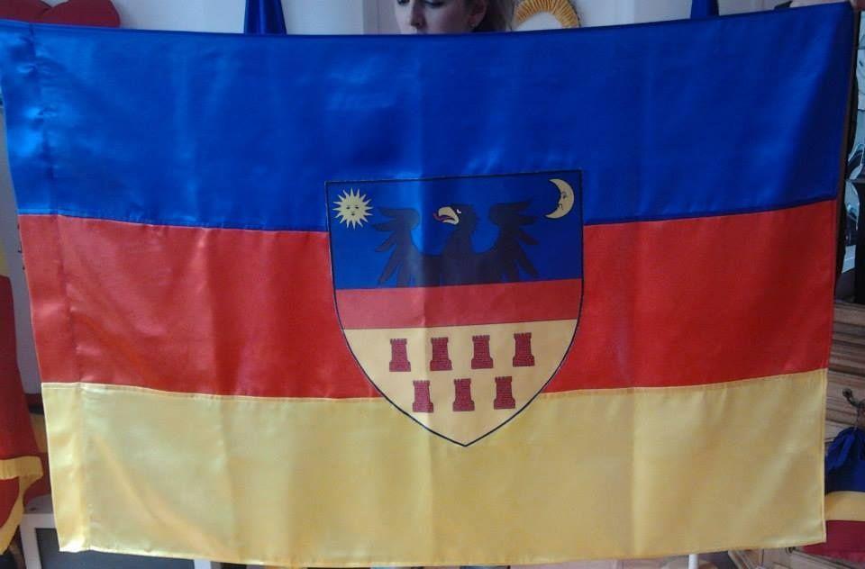Steagul Transilvaniei - matase