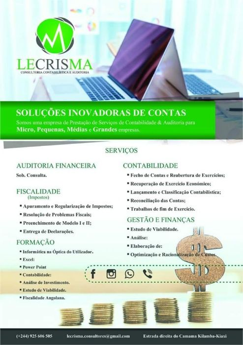 LECRISMA _ Serviços de Consultoria (Contabilidade & Fiscalidade)