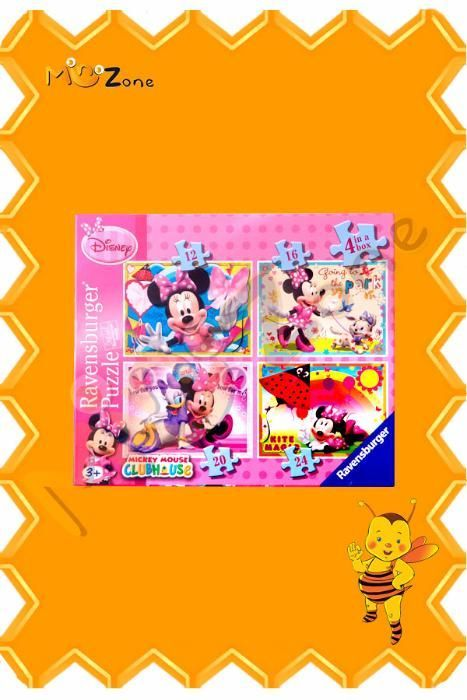 Puzzle Minnie Mouse 4 in 1