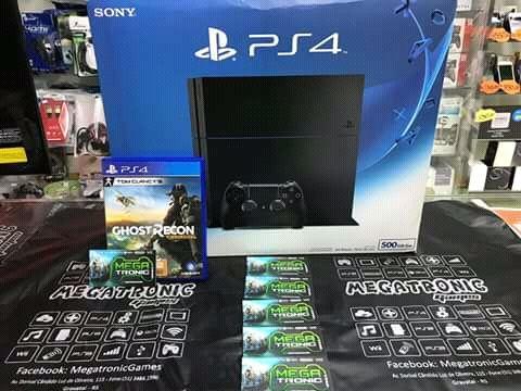 Ps4 novo a venda