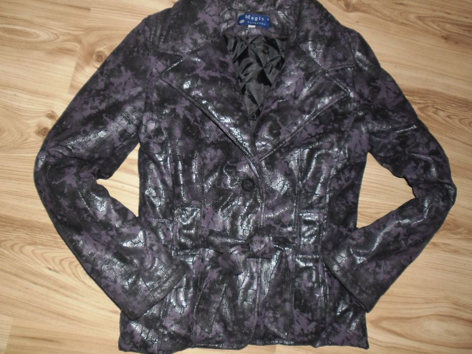 цикламено,черно ватирани якетадънково яке