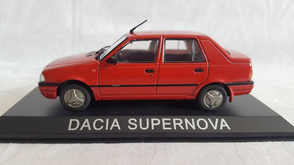 Macheta DeAgostini Dacia Supernova Scara 1:43