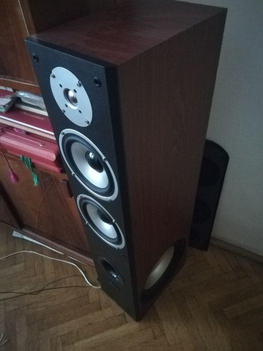 Boxe podea standfloor + amplificator