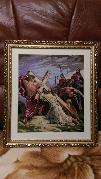 "Vand icoana goblen "" Patimile lui Isus"""