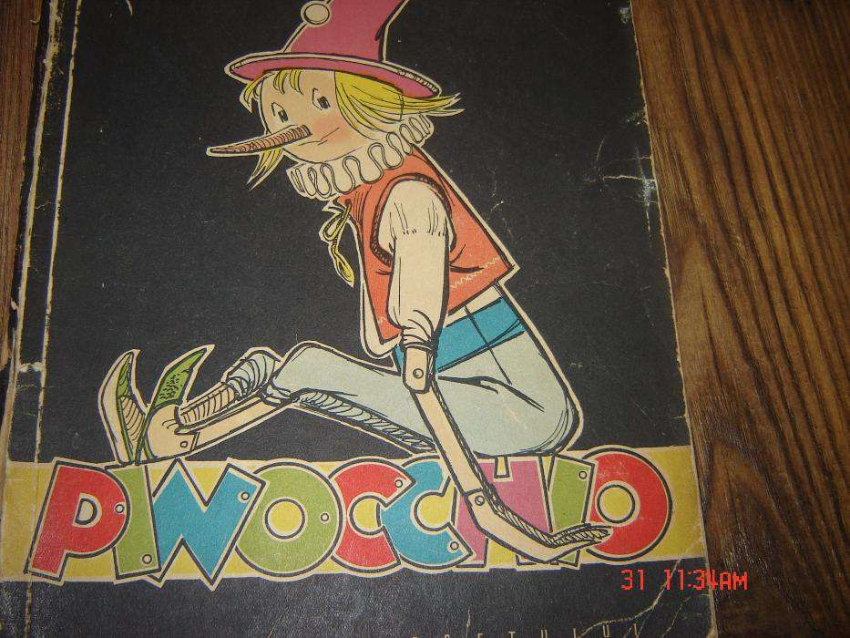 Pinocchio-editie 1958