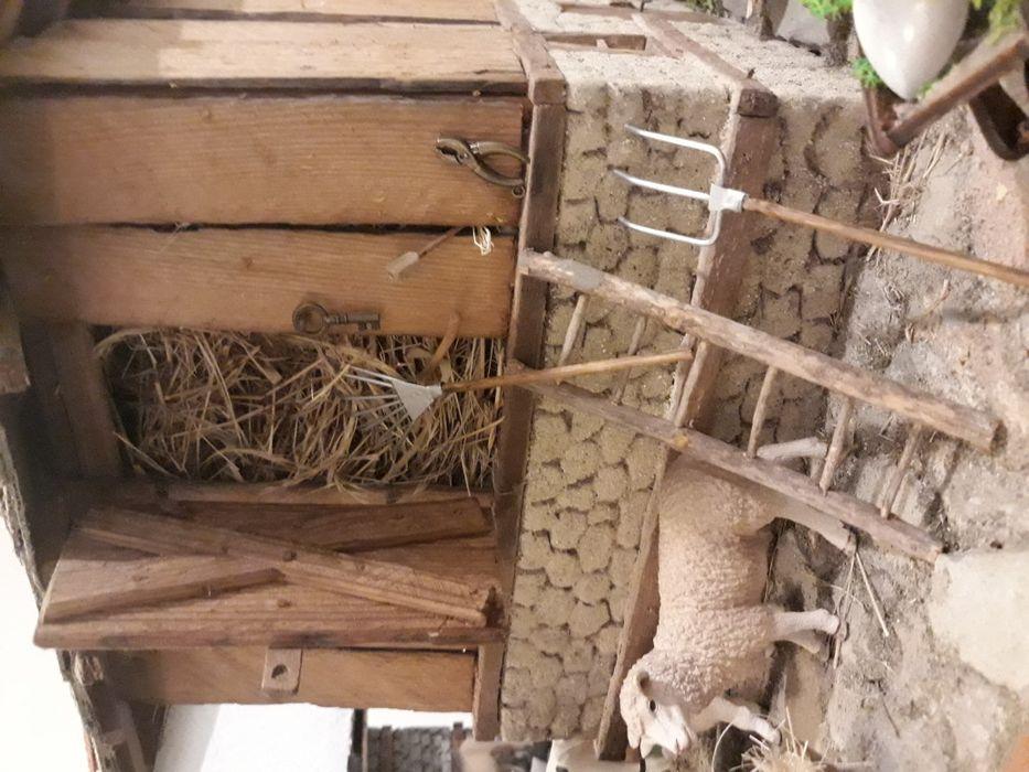 Възрожденска къща Макет Диорама на стара плевня