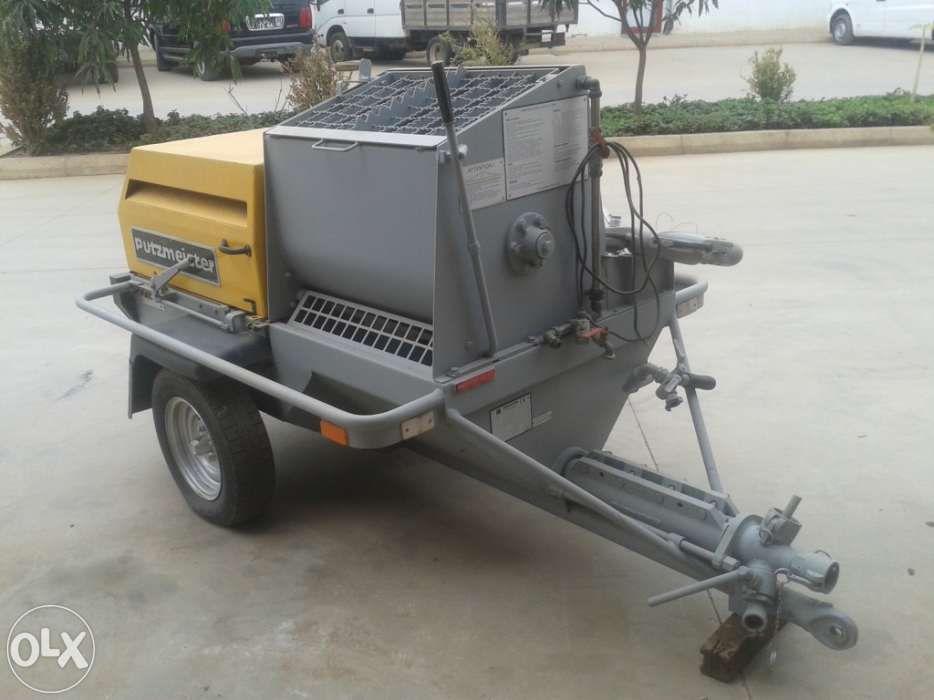 Máquina de rebocar - putzmeister