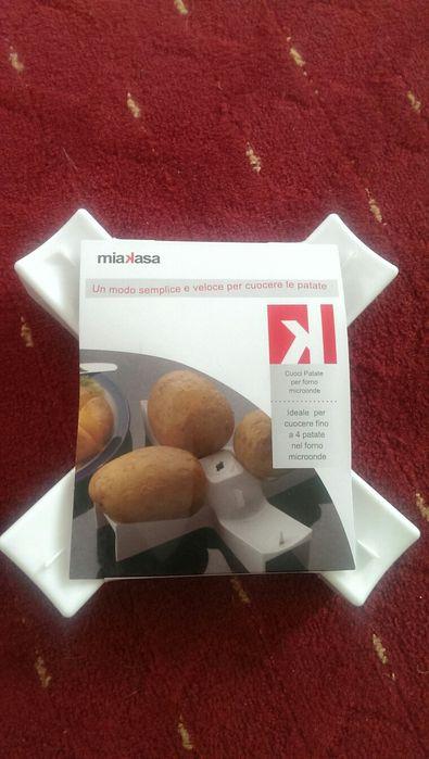 Dispozitiv de copt cartofi in microunde