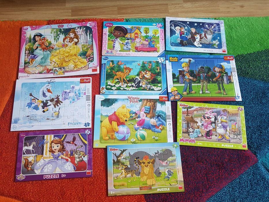 Puzzle copii 12-30 piese