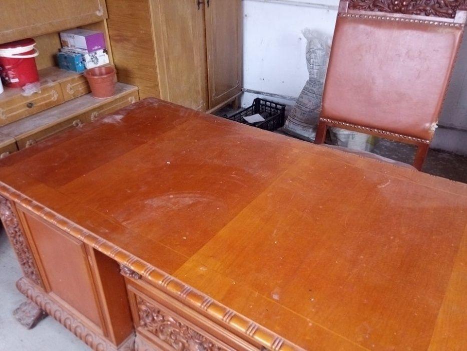 Set birou cu fotoliu ,masa si scaune