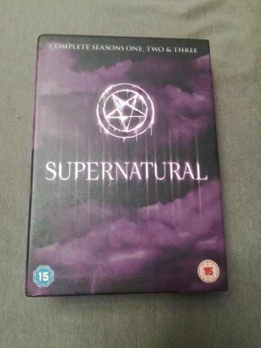 Supernatural Colectie Sezoanele 1,2 si 3 DVD