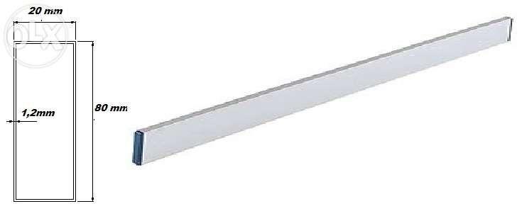 dreptare aluminiu sapa zidarie 80x20x1,2