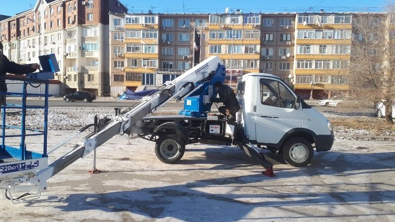 Автовышка (автогидроподъемник) ГАЗель, 12-14-18 метров