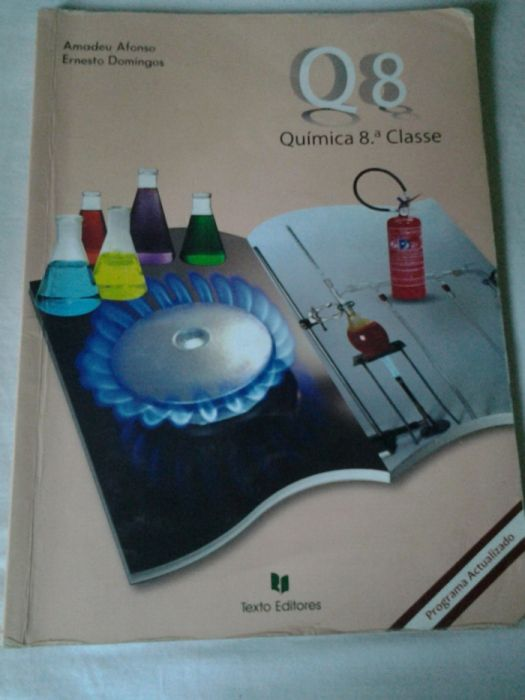 Livro de Quimica da 8ª Classe