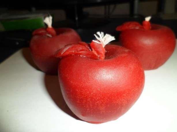 Свечи восковые Яблоки
