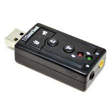 PLaca de Som USB 7.1 a bom preço + Entrega