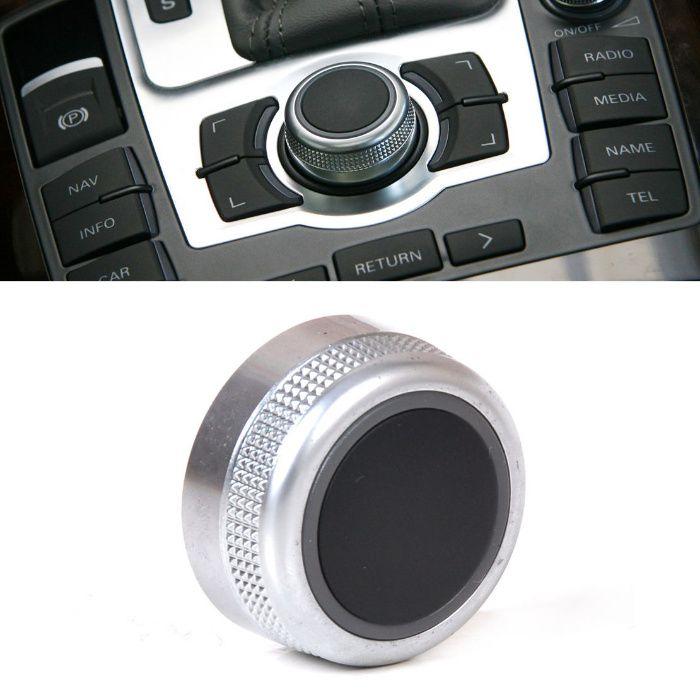 Копче Бутон за Мултимедия Навигация MMI Меню Панел на AUDI A6 A8 Q7