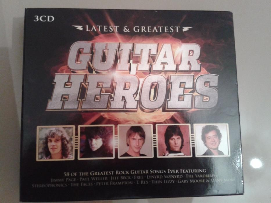 Guitar Heroes-Compilatie (3CD)