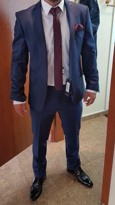 Намаление! Мъжки костюм Теодор от студено пресована вълна