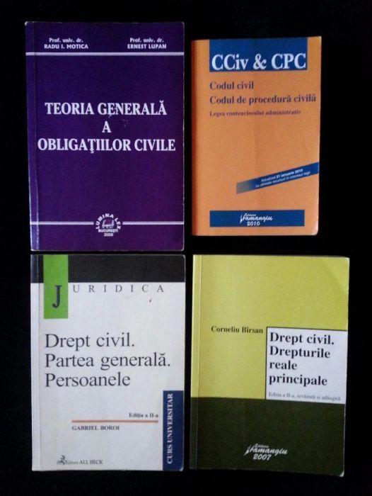 Carte Drept Civil, manual de drept