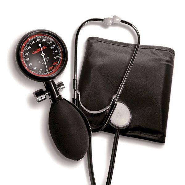 Механичен апарат за измерване на кръвно налягане UniMark и резер