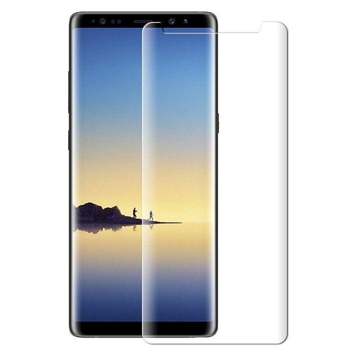 Folie de sticla 3D transparenta compatibila cu Samsung Galaxy Note 8