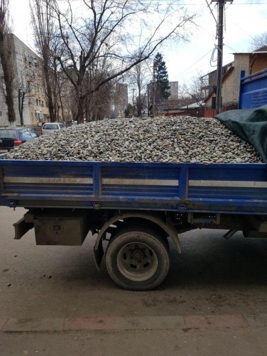 Oferta agregate balastiera nisip piatra amestec margaritar moloz