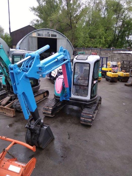 Услуги/мини экскаватор трактор KOMATS PC50UU глубина копания 4.30 метр