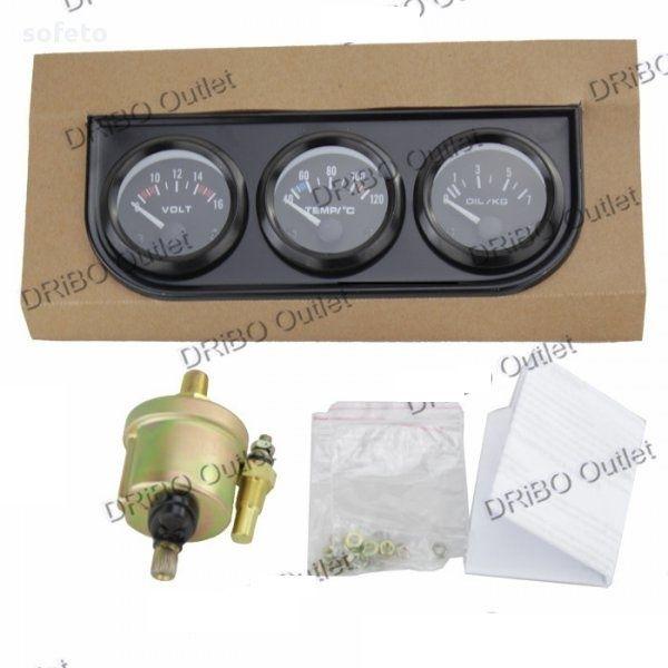 920a5e3334b Измервателни уреди комплект 3бр тип VDO температура налягане масло гр.  Стара Загора - image 5