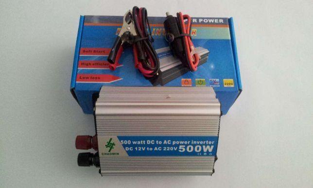 Invertor auto 500W Chaomin ,invertor(convertor) 12v-220v Chaomin 500 W