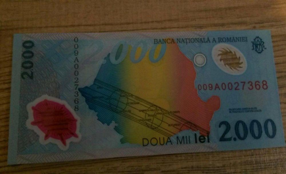 25 Bancnote Eclipsa (2.000 lei)