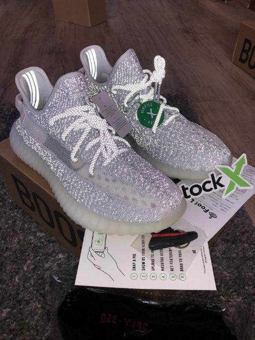 """Adidas Yeezy Boost 350v2 """"Static REFLECTIVE"""" Обувки 36-47EUR+ Кутия"""