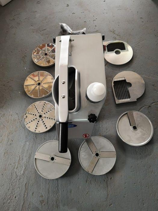 Oferta, robot legume profesional , 550w, 270 rpm, pachet 8 discuri