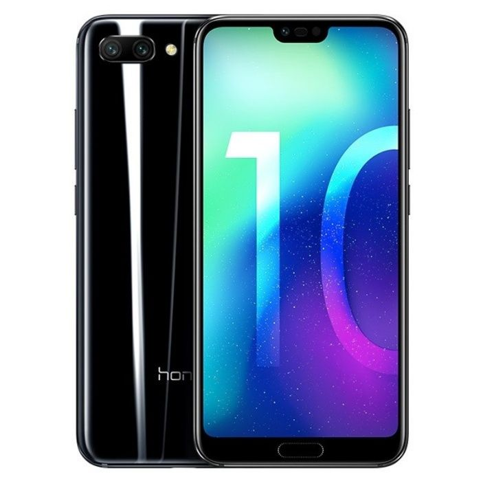 Huawei honra 10 4GB / 64GB DS preto meia-noite