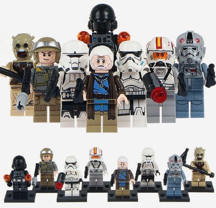 Set 8 Minifigurine tip Lego Star Wars cu Lor San Tekka
